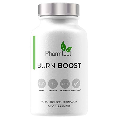 Pharmtect Burn Boost Supplement – Energy Support Formulated by Expert Nutritionist – High Strength Green Tea, L…