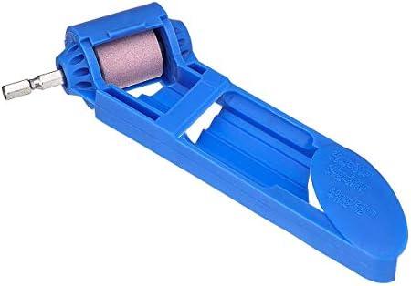 KUNSE Portable Drill Bit Sharpener Corundum Schleif Rad Hand Portable Powered Tool