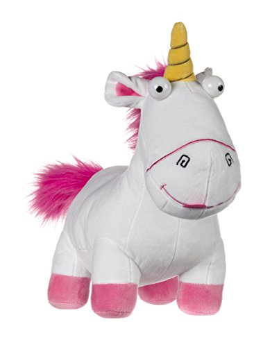 Official Licensed Children's Despicable Me Fluffy Unicorn Large Soft Plush Toy