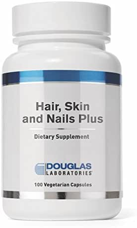Douglas Laboratories - Hair, Skin & Nail Plus - Vitamins, Minerals, and Nutrients Formulated to Support Healthy Hair, Skin, and Nails* - 100 Capsules