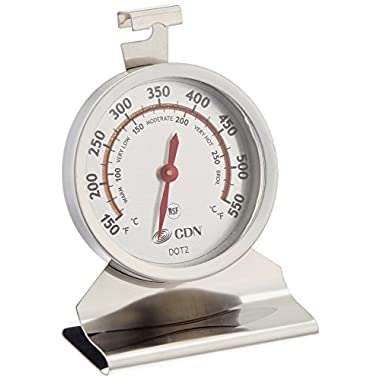 CDN DOT2 ProAccurate Oven Thermometer-NSF Certified