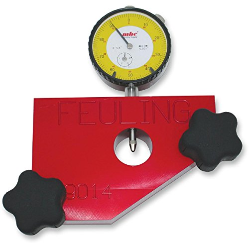 Feuling 9014 Pinon Shaft Run Out and Gear Drive Backlash Tool (Gear Plate Indicator)