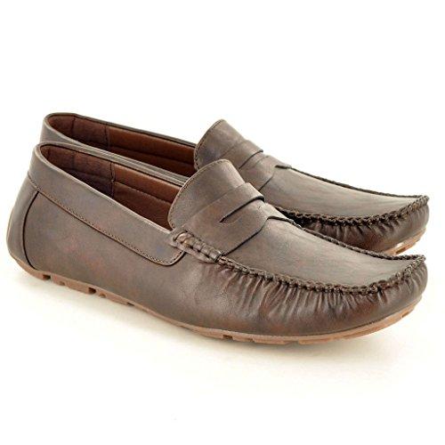 My Perfect Pair Zapatos de Cordones Para Hombre Marrón Marrón Oscuro NetCsvzW