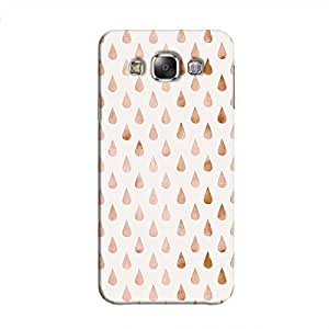 Cover It Up - Raindrops Pale Pink Pastel Galaxy E5 Hard Case