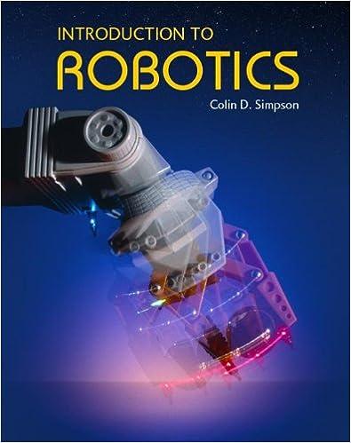 Amazon introduction to robotics 9780968686027 colin d introduction to robotics 1st edition fandeluxe Gallery