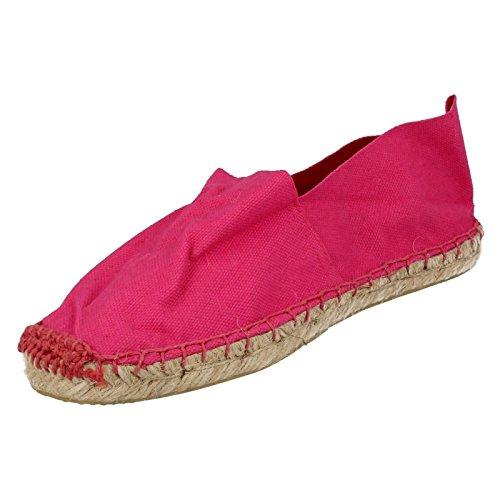 Spot On ,  Mädchen Durchgängies Plateau Sandalen mit Keilabsatz Rose