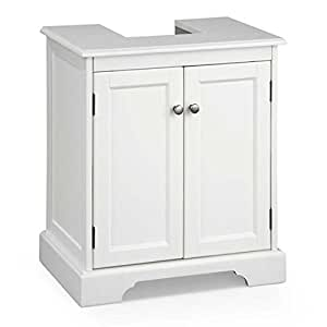 bathroom storage cabinets amazon bathroom pedestal sink storage cabinet white 11706