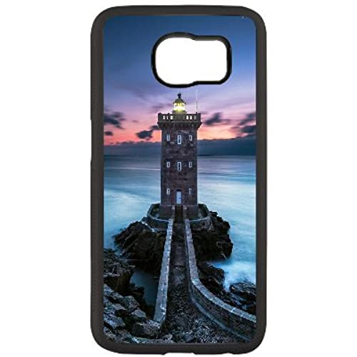 [BDcase]-Lighthouse Series of Pattern on Samsung Galaxy S7 Hard Back Phone Case with Black Sales
