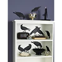 Martha Stewart Crafts Glittered Crow Silhouettes