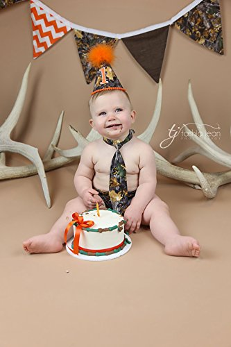 Admirable Amazon Com Boys First Birthday Cake Smash Outfit In Real Tree Personalised Birthday Cards Epsylily Jamesorg