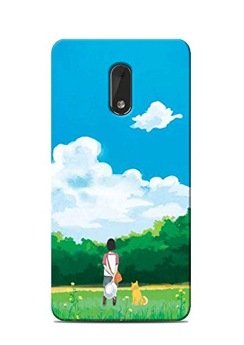 the latest af2e2 db982 Print Station NOKIA6-5642 Me and My Dog Printed Back: Amazon.in ...