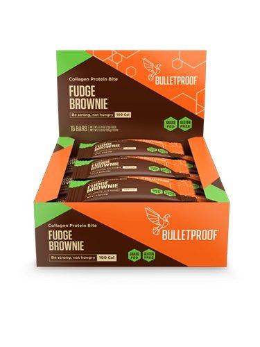 Fudge Brownie Bar (Bulletproof Collagen Protein Bites 15 Bars (Fudge Brownie))