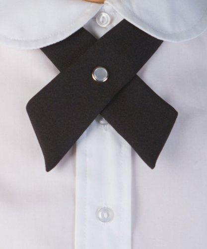 Cookie's Brand Crisscross Neck Tie - black, one (Crossover Tie)