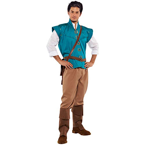 Disney Tangled Flynn Rider Costume - Teen/Men's Standard Size Green]()