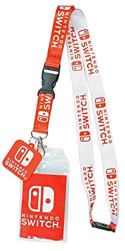 Nintendo Switch ID Lanyard Badge Holder with 2