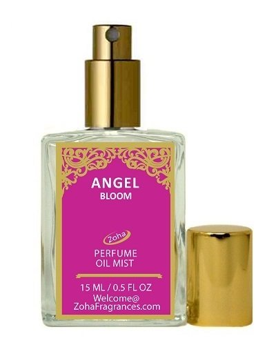 Angel Bloom Perfume Oil Mist (no Alcohol) Angel Parfum by Zoha Fragrances, 15ml/0.5fl Oz - Angel Scented Eau De Parfum