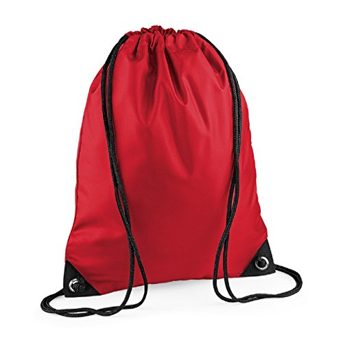 Bag Red Bagbase Zipped Shoulder Unisex Classic Pocket Strap Colours Retro zqrPwx0z