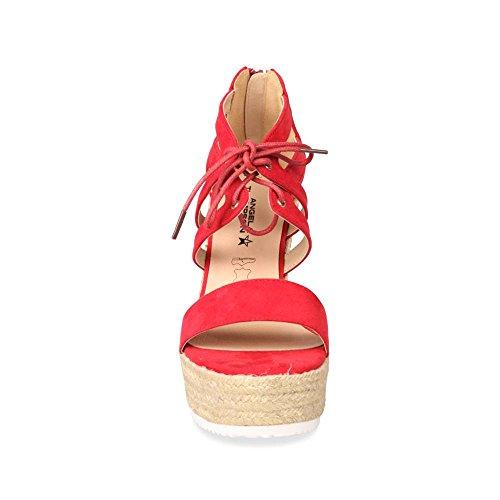 ANGELA THOMPSON - Sandalias de Vestir de Material Sintético Mujer