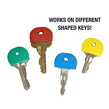 20//PK of Assorted Colors 1650020 Lucky Line Standard Size Key Caps Identifiers Made To Fit KW1 /& SC1 Key Ways