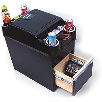 Amazon.com: IWANNA Car Center Console Box Black Carbon Cup