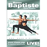 Baron Baptiste Core Power Live!: Power Vinyasa Yoga for Beginners and All Levels by Good Times Video