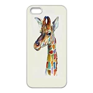 For SamSung Galaxy S5 Mini Phone Case Cover Friendly Giraffe Colorful Hard Shell Back White For SamSung Galaxy S5 Mini Phone Case Cover 336712