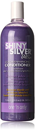One 'n Only Shiny Silver Ultra Conditioner, 33.8 - Silver Ultra Shiny