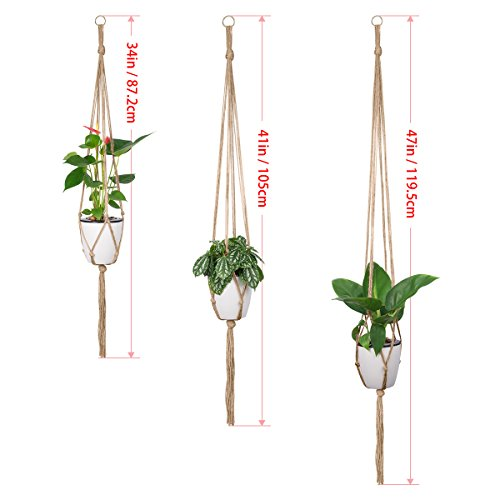 Review Indoor Hanging Planter Holder,
