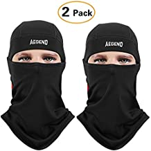Aegend Balaclava Windproof Ski Mask Winter Motorcycle Neck Warmer Tactical Balaclava Hood Polyester Fleece Women Men Youth Snowboard Hat Outdoors Helmet Liner Mask,1 Piece