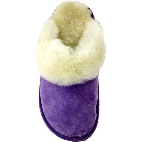 Ciabattas Skrape Slip På Lavendel Kvinners Store (størrelse 9-10.5)