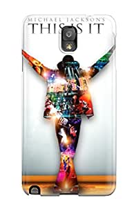 Kirsten Brett's Shop High Impact Dirt/shock Proof Case Cover For Galaxy Note 3 (michael Jackson This Is It) 1949135K60411391
