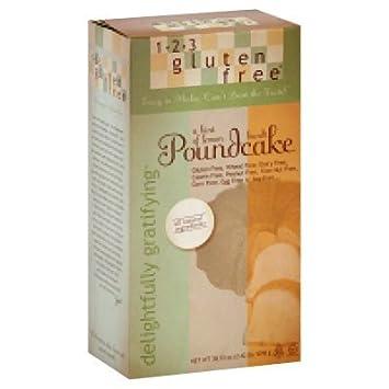 123 Gluten Free Delightfully Gratifying Poundcake Mix Hint Of Lemon 38 72 Oz