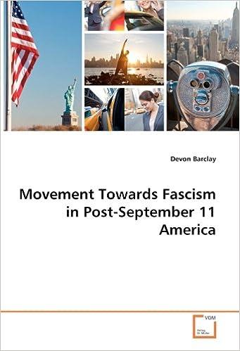 Book Movement Towards Fascism in Post-September 11 America