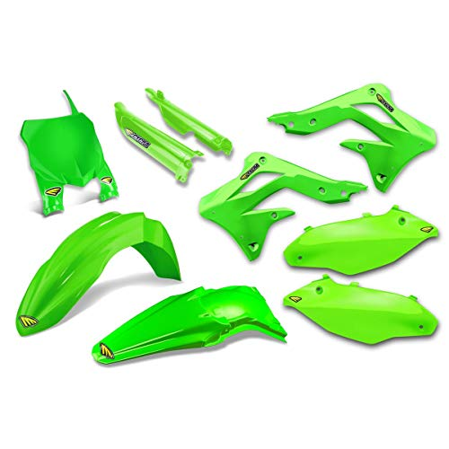 Cycra 13-15 Kawasaki KX450F Powerflow Plastic Kit (Flo Green)