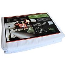 Natural Comfort Anti-Bedbug Waterproof Box Spring/Mattress Encasement, 14-Inch, Queen