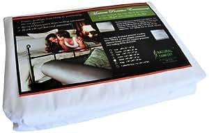 Natural Comfort Anti-Bedbug Waterproof Box Spring/Mattress Encasement, 9-Inch, King
