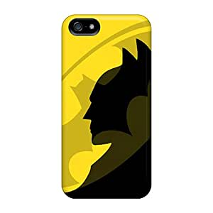 Tough Iphone ITc21872aXxH Cases Covers/ Cases For Iphone 5/5s(yellow Batman)