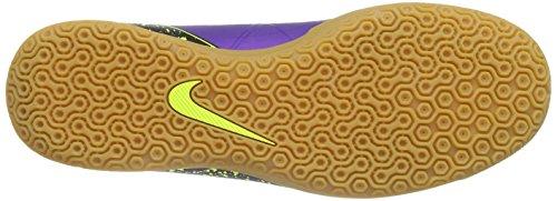 Nike Hypervenom Phade II IC Botas de fútbol, Hombre Morado / Negro / Verde (Hyper Grape/Hypr Grape-Blk-Vlt)