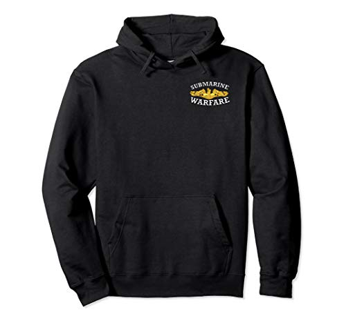 - NAVY SUBMARINE WARFARE PIN ENLISTED LOGO Pullover Hoodie
