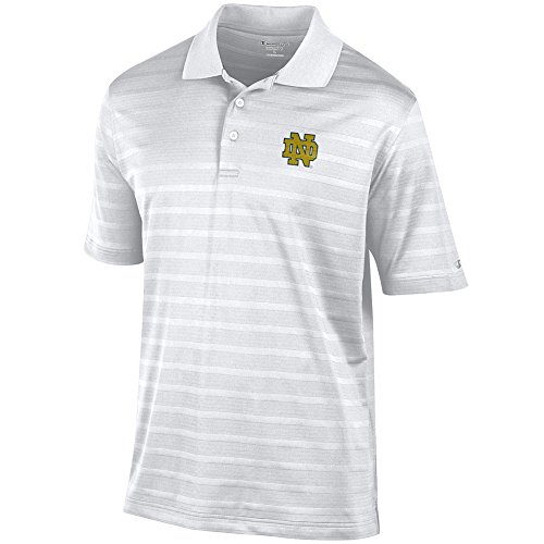 Elite Fan Shop Notre Dame Fighting Irish Polo Shirt White - XL