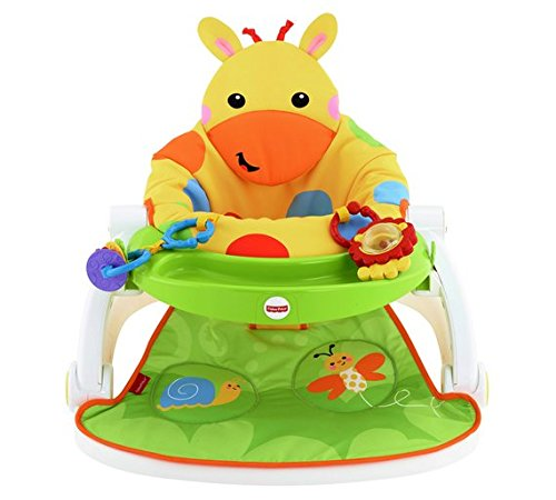 Giraffe Giraffe Sit-Me-Up Feeding Booster Seat With Tray.