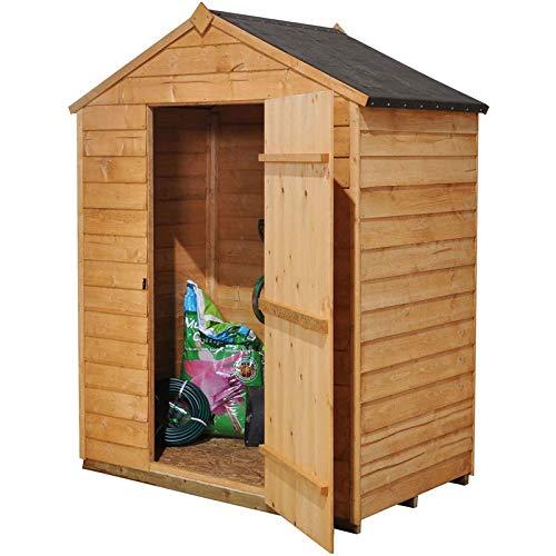 Cobertizo de madera tratada carcagor caja perfecta al ...