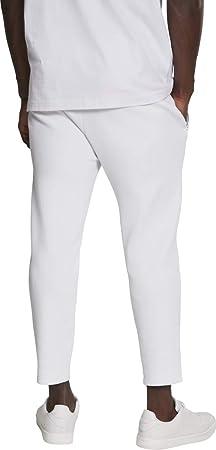 Urban Classics Cropped Heavy Pique Pants Pantalones de Deporte para Hombre
