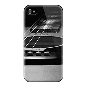 New Arrival Cover Case With Nice Design For Iphone 4/4s- Guitar