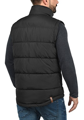 Hombre Cuello De Para 9000 Con Black Denneb Acolchado Alto Chaleco solid Plumas BgYUwq
