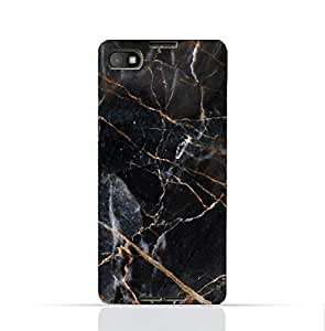 Blackberry Z30 TPU Silicone Case With Dark Grey Marble Texture