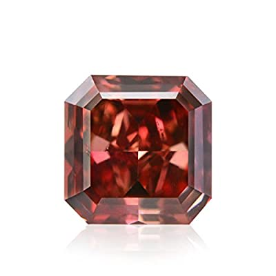 0.41Cts Argyle Fancy Red Loose Diamond Natural Color Radiant Cut GIA Certified