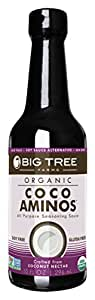 Big Tree Farms Coco Aminos All Purpose Seasoning Sauce, 10 Ounce