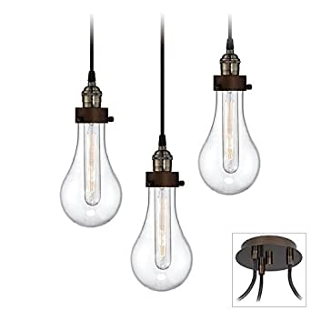 Coleman Bronze 3-Light Swag Pendant