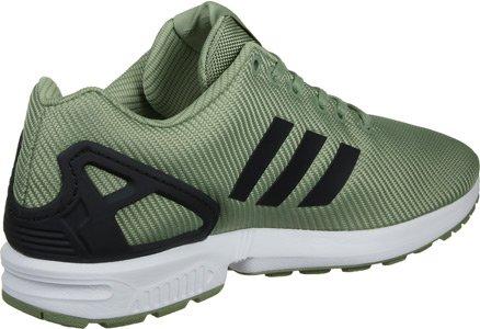 adidas Zx Flux, Zapatillas Unisex verde negro blanco